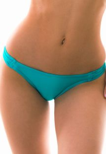 Fixed tanga - turquoise - BOTTOM MARE CHEIA