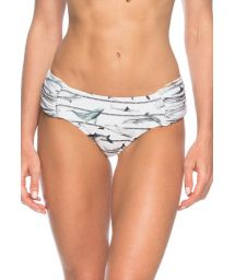Low-cut marine-style bottoms with wide pleated sides - BOTTOM NAUTICO ILHOS
