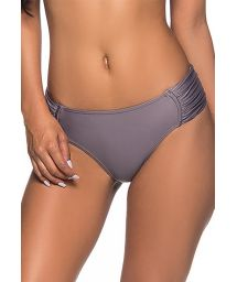 Grey bikini bottom with pleated sides - BOTTOM NO VINTAGE