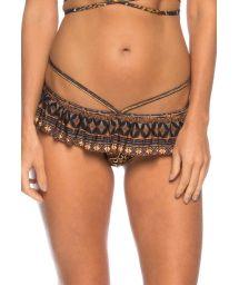 Strappy skirted bikini top with flounce - BOTTOM PRAIA DO SONHO