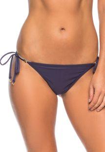 Plum color side-tie Brazilian bikini top - BOTTOM RIACHO DOCE