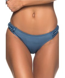 Dark blue Brazilian bikini bottom with braided sides - BOTTOM TRESSE ELEGANCE