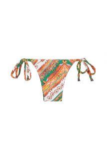 Laag uitgesneden Siciliaans bedrukt bikinibroekje - CALCINHA CARRETO IATE
