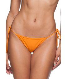 High-cut orange Brazilian bottom - CALCINHA IGUAL PLAGE