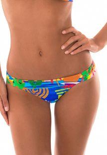 Yhtenäinen bikinitanga, monivärinen naivistinen kuvio - CALCINHA MATISSE SUPER