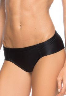 Black Brazilian bottom with very wide sides - CALCINHA RAQUEL