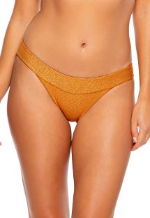 BOTTOM SEAMLESS RUCHED LULI DIVA BRONZE