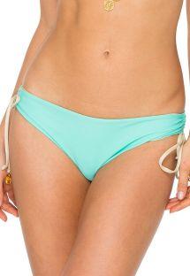Light turquoise / gold reversible bottom - BOTTOM AGUA DULCE REVERSIBLE