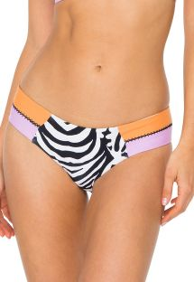 Braguita reversible cebra/colores - BOTTOM CAYO SETIA STITCHED