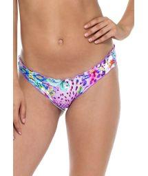 Fixed printed bikini bottoms with scalloped edges - BOTTOM GUAJIRA