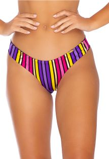 BOTTOM PARTY RUCHED MULTICOLOR
