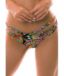 BBS X LULI FAMA - Multi-strap scrunch bikini bottom - BOTTOM RUMBA STRAPPY