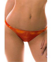 BBS X LULI FAMA - Orange tie-dye bikini bottom - BOTTOM SOL Y ARENA BRAIDED