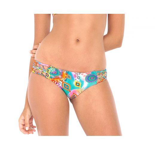Brazilian bikini bottom - CALCINHA BOHO BRAIDED