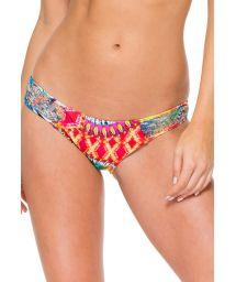 Vändbar bikininederdel med virkade sidor - CALCINHA ENCANTADORA