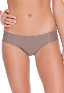 Muldvarpefarvet/gyldenbrun vendbar bikini - CALCINHA REVERSIBLE SANDY TOES