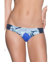Double printed bikini bottom floral/palm trees - BOTTOM COCONUT VALLEY