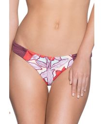 Swimsuit thong in a mixed floral print - BOTTOM CUMBIA SOCIETY