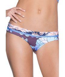 Stadig blommig bikiniunderdel färgstark/randig - BOTTOM DENIM COLOMBIA