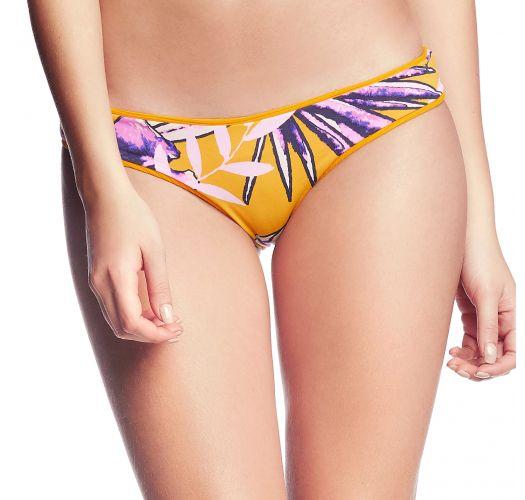 Omvendbar gul brasiliansk bikiniunderdel - BOTTOM FARRAH´S LOVELY