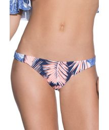Fixed swimsuit tanga in mixed prints - BOTTOM FESTIVE COQUETTE