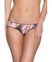 Reversible palm-print bikini bottoms - BOTTOM FIG DIVINE