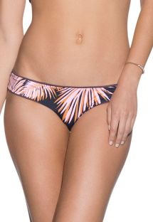 Reversible palm-print bikini bottoms - BOTTOM FIG DIVINE