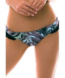 BBS X MAAJI - tryckta bikini övredel med volanger - BOTTOM FRUFRU PALMEIRA