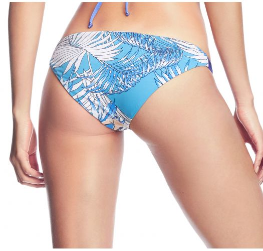 Blue printed bikini briefs - BOTTOM FUNKY CARIOCA