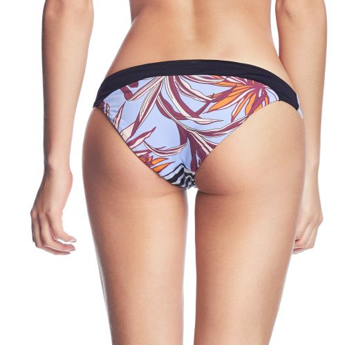 Fixed bikini bottom with mixed print - BOTTOM HIDDEN VALLEY