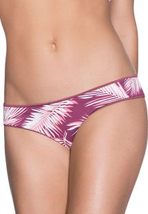 Slip reversibile palme/bordeaux - BOTTOM JUNEBERRY JAZZY