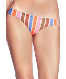 Nedredel med mixat orange tryck - BOTTOM LARANJA FRILLS