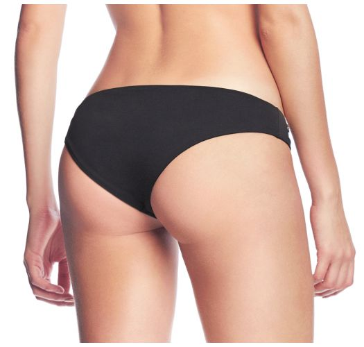 Reversible black printed fixed bikini bottom - BOTTOM METEORITE DUNES