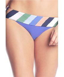 Blue stripped bikini bottoms - BOTTOM PRAIA DU FORTE