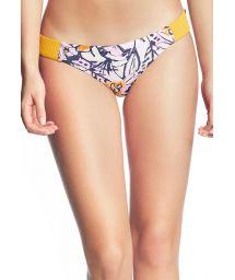 Gul, texturerad bikini nedredel - BOTTOM SUN BASS SAMBA