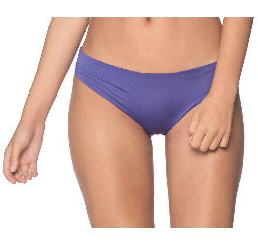 Brazilian cheeky scrunch bikini bottom in purple - BOTTOM ALAND SODALITE BLUE