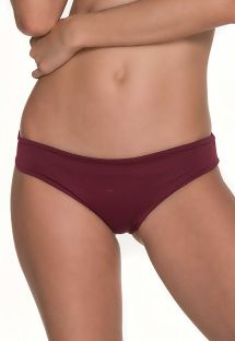 Braguita scrunc brasileña bordeaux - BOTTOM AWE BURGUNDY