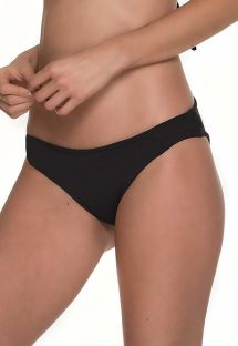 Black Brazilian bottom with scrunch details - BOTTOM AWE ONYX
