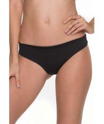 Fixed black scrunch bikini bottom - BOTTOM JOLLY COLIBRI TRI