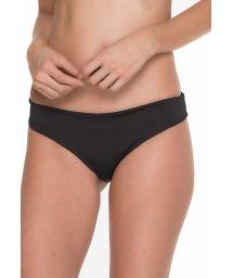 Basic black jersey bathing suit bottom - BOTTOM MERRY OFF SHOULDER