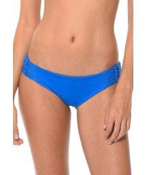 Blue bikini bottoms with macrame sides - CALCINHA HAPPY HATCH AZUL