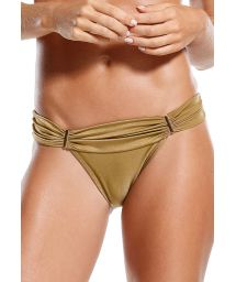 Gold fixed Brazilian bikini bottom - BOTTOM ELDORADO