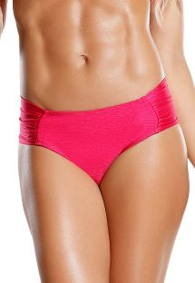 Flashy pink larger-side bikini bottom - BOTTOM ROSA