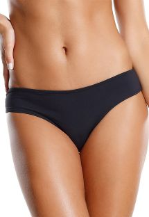 Fixed black Brazilian bottom - CALCINHA PEIXE LUA