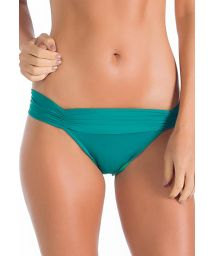 Fixed green Brazilian bottom with pleated belt - BOTTOM ALFA