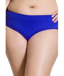 Marineblaue Bikinihose in Plus Size - BOTTOM CLASSIC COBALT PLUS