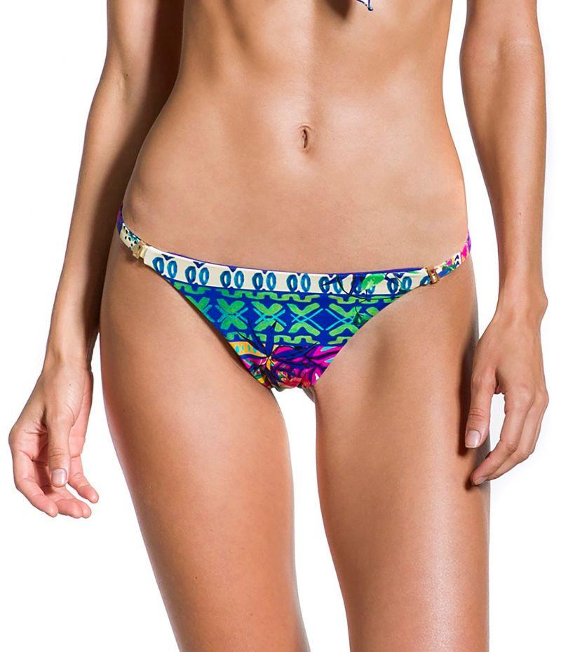 Ethnic and colorful fixed bikini bottom - BOTTOM ENCANTADOR ETNICO