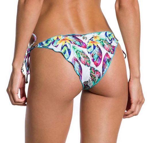 Brazilian Wende-Bikinihose mit Federnmotiv - BOTTOM SONHOS LIANA