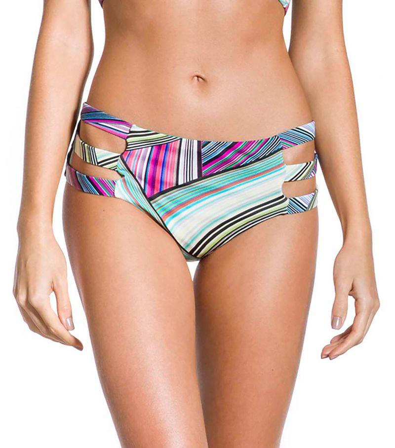 Graphic print larger-side bikini bottom - BOTTOM VILA DO PORTO