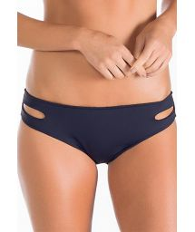 Black swimsuit bottoms with cutouts - CALCINHA CONGO
